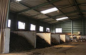 堆肥舎(第二工場施設)